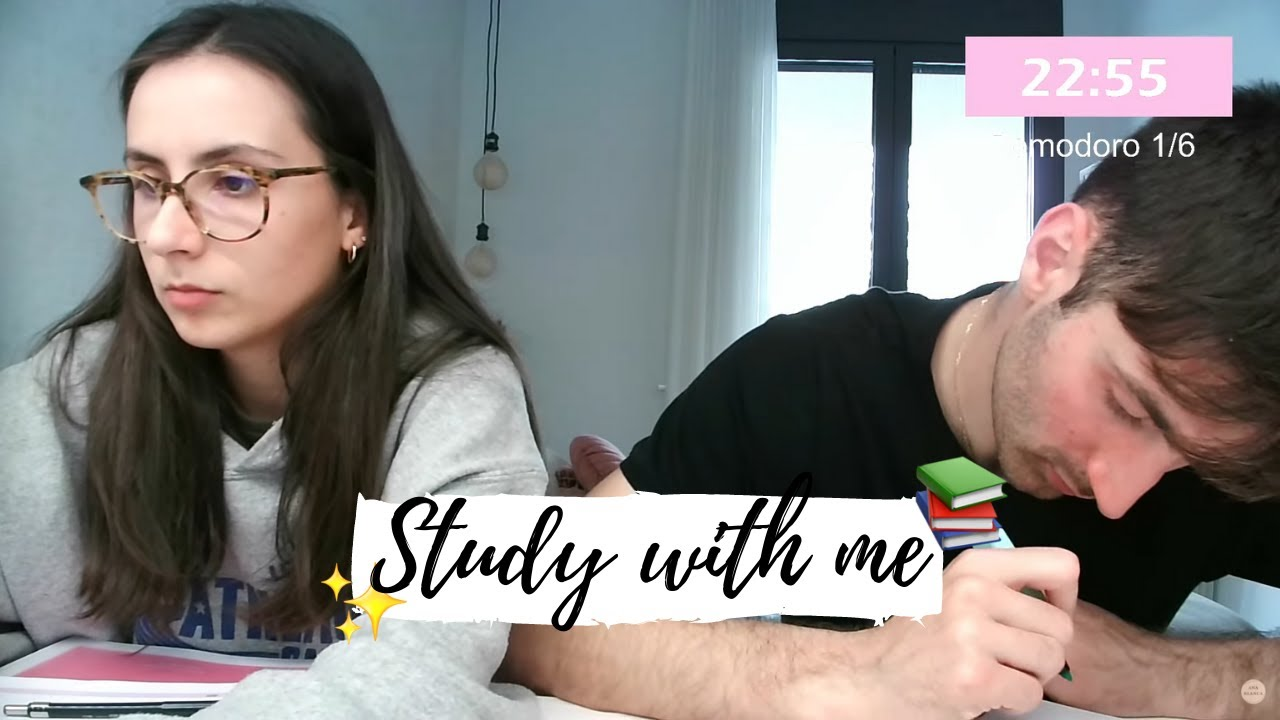 STUDY WITH ME    @anablanchustudy !discord