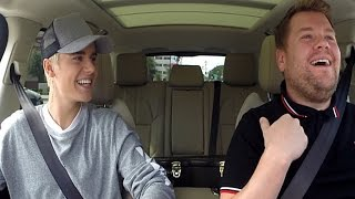 Justin Bieber & James Corden Team Up For MORE Carpool Karaoke!