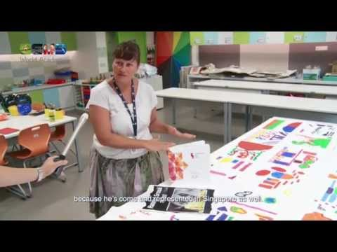 Developing imagination and creativity through Art | International School in Singapore