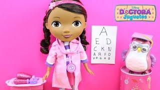 Muñeca La Doctora Juguetes Oculista | Juguetes de Doctora Juguetes en español | Doc McStuffins toys