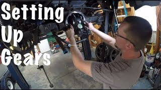 How to Set Up Gears Chevy 8.6 Rear End