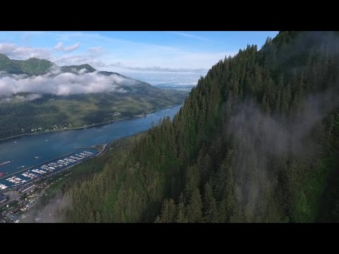 Juneau - A drone film over Juneau, Alaska