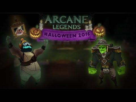 HALLOWEEN EVENT 2016 - ARCANE LEGENDS