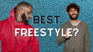 "Best Freestyle? (Lil Dicky, The Game, Nipsey Hussle, Meek Mill, Royce Da 5'9"")"