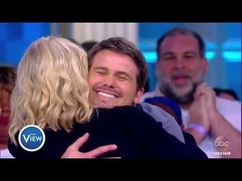 Jason Ritter Breaks Guinness World Record For Most Hugs Given In One Minute  The View