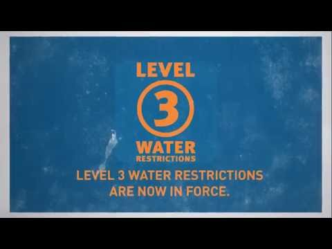 Level Three Water Restrictions - Townsville