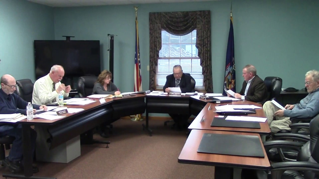 Champlain Town Board Meeting  4-10-18