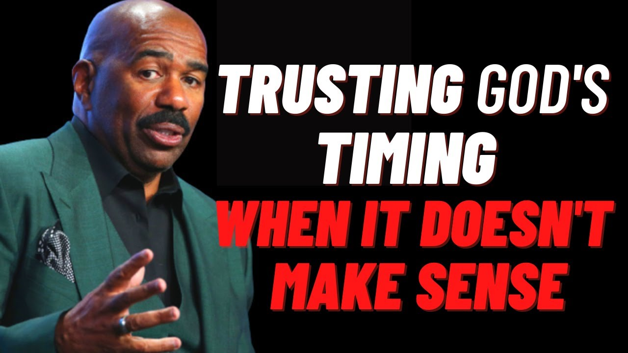 Download TRUST GOD'S TIMING | Inspirational & Motivational Speech | Steve Harvey , Joel Osteen, Td jakes
