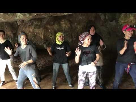 1st in Malaysia Zumba In Gua Tempurung Ipoh Perak,