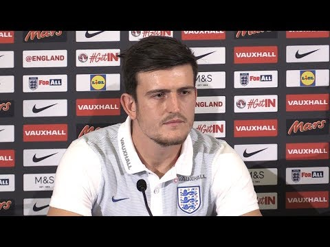 Harry Maguire Full Pre-Match Press Conference - Malta v England - World Cup Qualifying