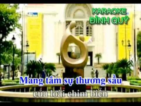 KARAOKE.Tam Su Loai Chim Bien 2 Hat Voi THU HA