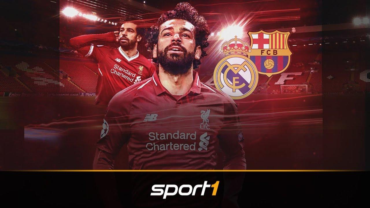 Salah auf dem Sprung? Das sagt Klopp | SPORT1 - Transfermarkt - YouTube