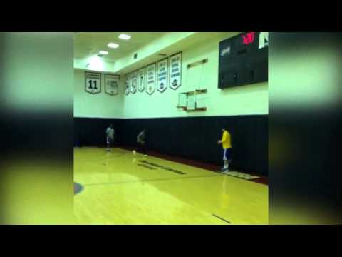 Alvin Gentry Throws Down amazing Dunk at Warriors Practice | Game 6 | 2015 NBA Finals
