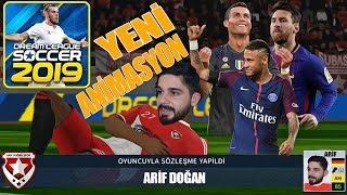Yeni Transfer Animasyonları, Ronaldo, Messi, Dream League Soccer 2019 | Android Gameplay Türkçe