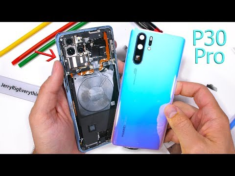 Watch Huawei's P30 Pro (and its crazy periscope camera) get taken apart