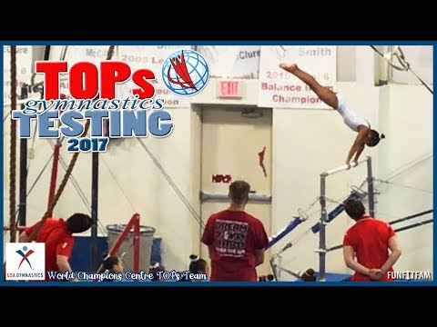 WORLD CHAMPIONS CENTRE TOPs TEAM - USA GYMNASTICS TOPs TESTING 2017 North Texas