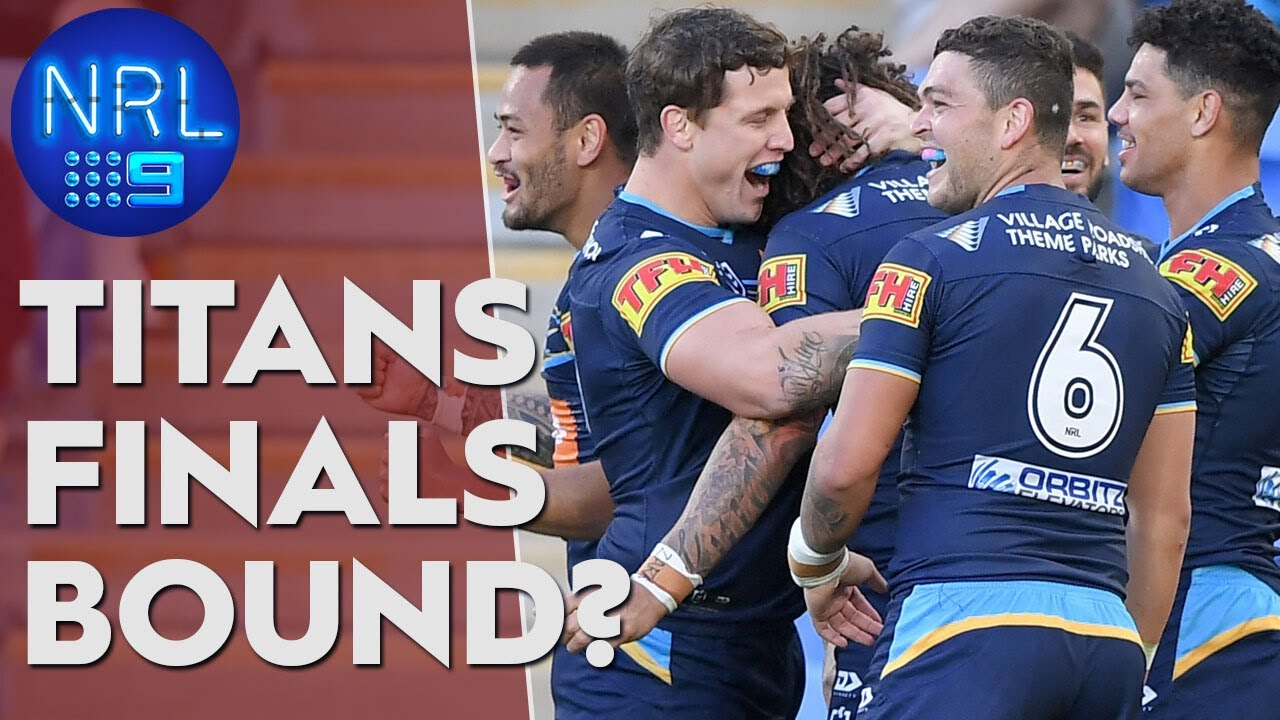 Can the Titans make the finals?: QLDER: Round 13 | NRL on Nine