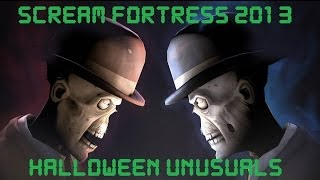Scream Fortress 2013 NEW TF2 Unusuals - Arcana, Demonflame, Chiroptera Venenata, Darkblaze