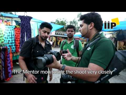 IIP Students at Delhi Haat for Outdoor Photography Class