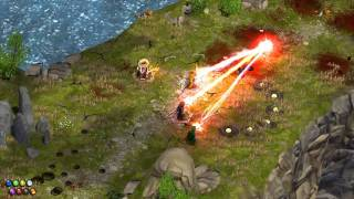 Magicka HD Adventure Mode Four Player Gameplay