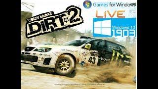 Dirt2 | Windows 10 190x [rodando Em 100% De Compatibilidade Game For Windows]