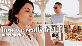 Saying Goodbye to Friends, and Thoughts about My Husband Leaving Active Duty | Moving Series Ep. 03