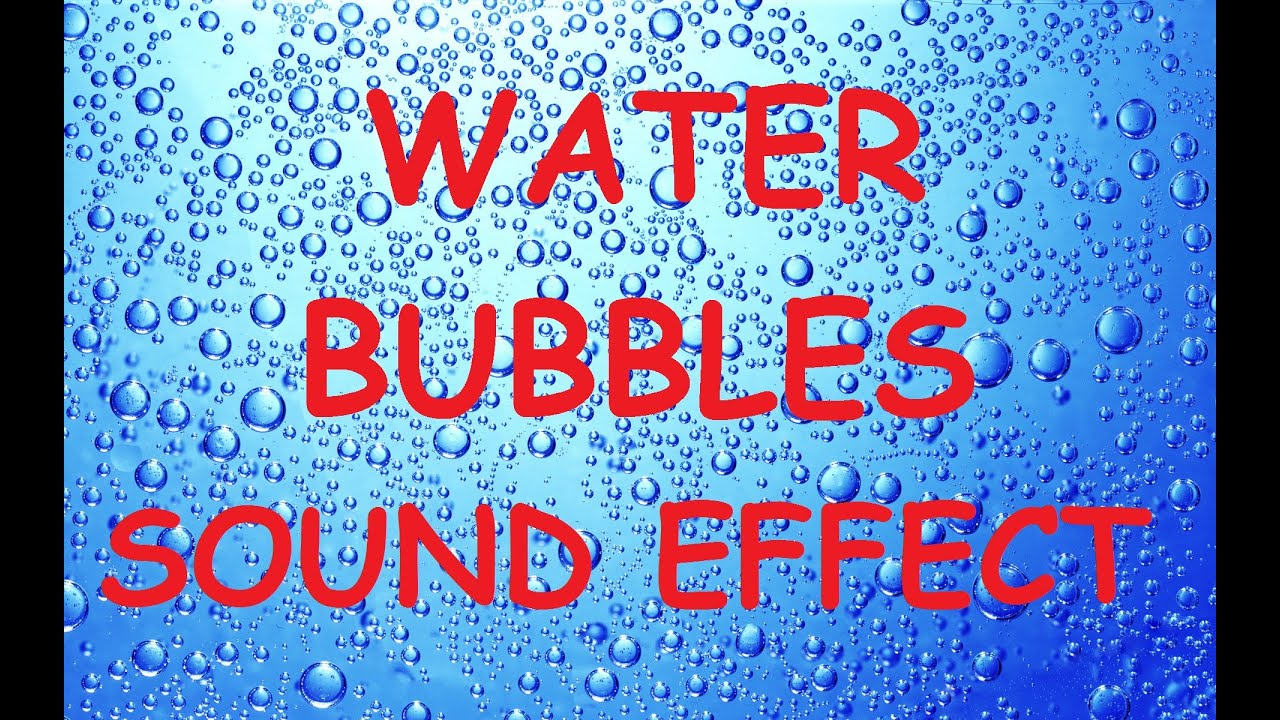 Bubbling Water Bubbles Sound Effect Slow Motion Show Science Popping  Animation Footage Video