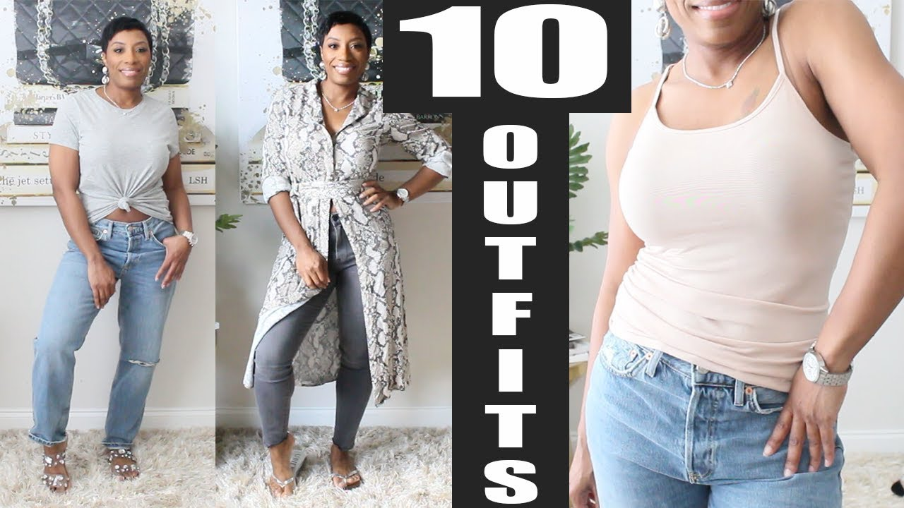 10 Spring Outfit Ideas | Casual & Comfortable