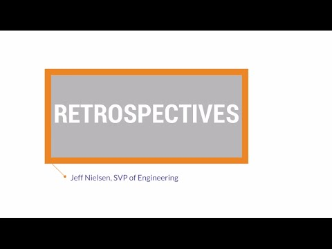 Agile Best Practices: Retrospectives