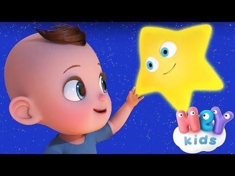 HeyKids – Twinkle Twinkle Little Star – Cantece pentru copii in limba engleza