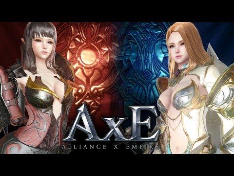 AxE - Alliance X Empire - Character Customization - All Jobs - Mobile
