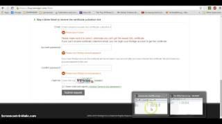 الحصول على شهاد الامان SSL مجانا -  Free SSL certificate(هذا الفيديو يحتوي طريقة الحصول على شهادة الامان SSL مجانا وبدون اي تعقيدات من موقع: https://buy.wosign.com/free/, 2015-07-30T05:19:59.000Z)