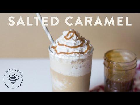 Salted Caramel Mocha Frappuccino - COFFEE BREAK SERIES - Honeysuckle