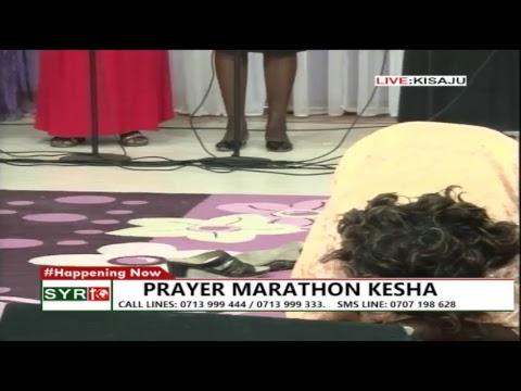 PRAYER KESHA MARATHON AT PRAYER CENTRE KISAJU KAJIADO COUNTY