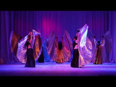 Bellydance show with wings! Eurasia dance project by Olga Taifi/ Orenburg