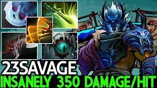 23SAVAGE [Juggernaut] This is Full Power Build 350 Damage/Hit 7.22 Dota 2