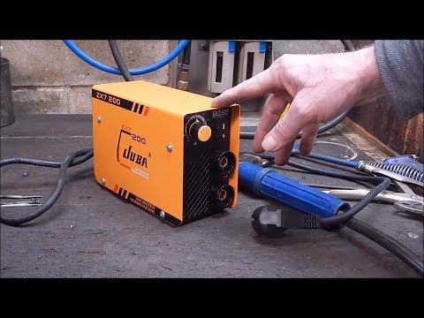 I review another tiny inverter stick welder from Banggood -