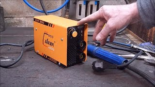 I review another tiny inverter stick welder from Banggood  excellent