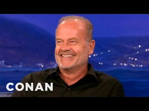 "Kelsey Grammer Knew ""Frasier"" Would Be A Hit  - CONAN on TBS"