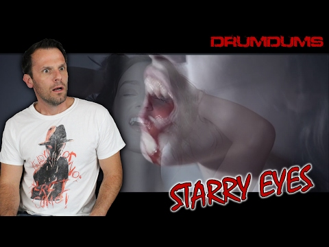 Drumdums Reviews STARRY EYES (Netflix Horror!!)