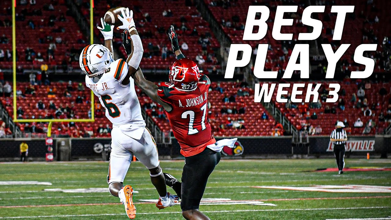 Download College Football Best Plays Week 3 | 2020-21 ᴴᴰ