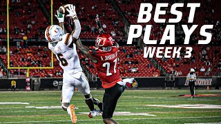 College Football Best Plays Week 3 | 2020-21 ᴴᴰ