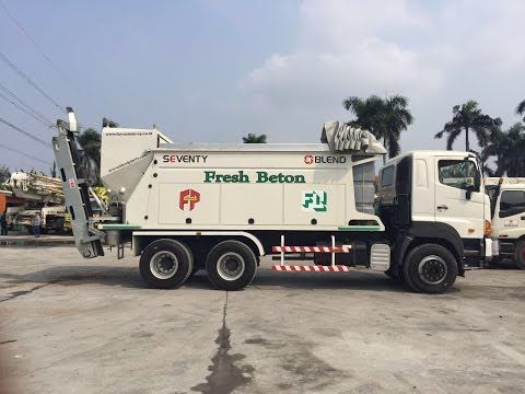 FRESH BETON INDONESIA MOBILE CONCRETE PLANT BLEND Seventy