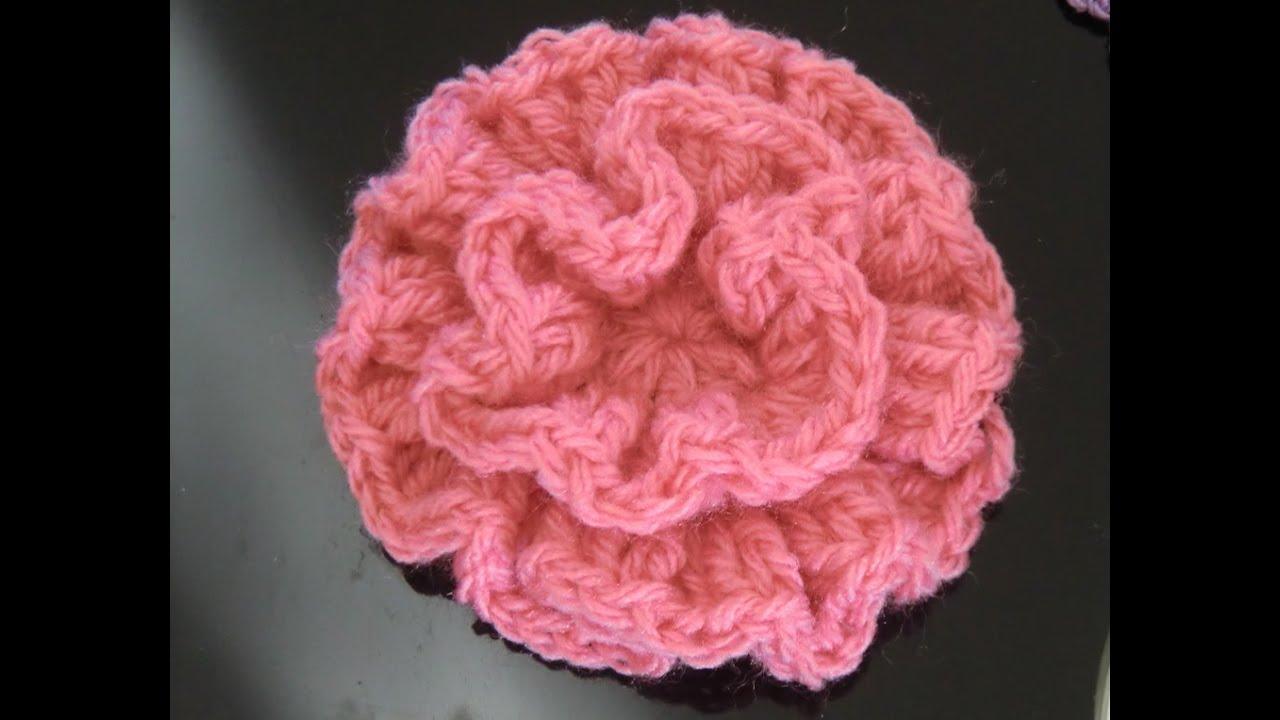 Crochet Pattern Easy Flower Youtube