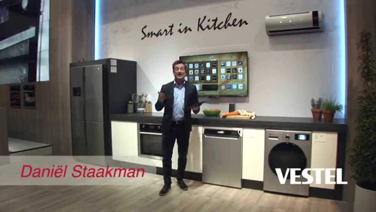 Smart Kitchen Vestel Smart Kitchen Living Kitchen 2015 Youtube