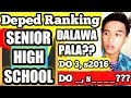 Deped Ranking Walkthrough for Senior High School Teacher-Applicants 2020