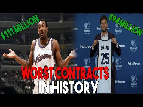 The WORST Contracts In Every NBA Teams' HISTORY!