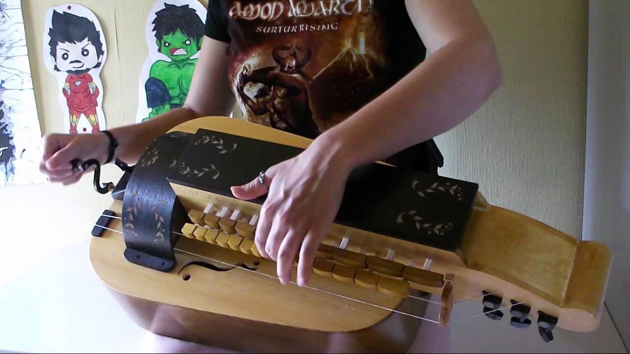 Eluveitie - Carnutian Forest (hurdy gurdy cover)