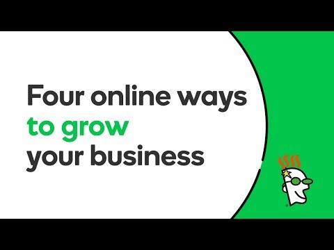 Four Online Ways to Grow Your Business | GoDaddy