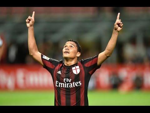 Tutti i gol di Carlos Bacca al Milan